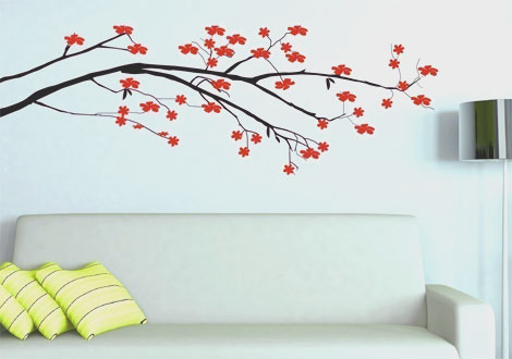 wall decals are a great way to