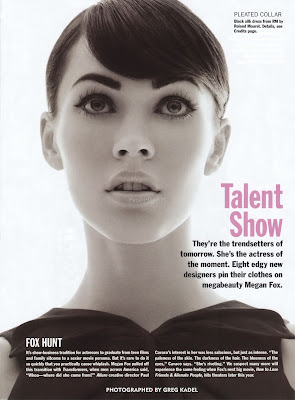 Web Exclusive Megan Fox in Allure Magazine, March 2008 [MQ/HQ x 8] scans
