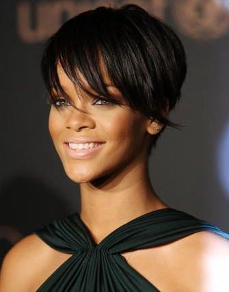 Rihanna following ex boyfriend