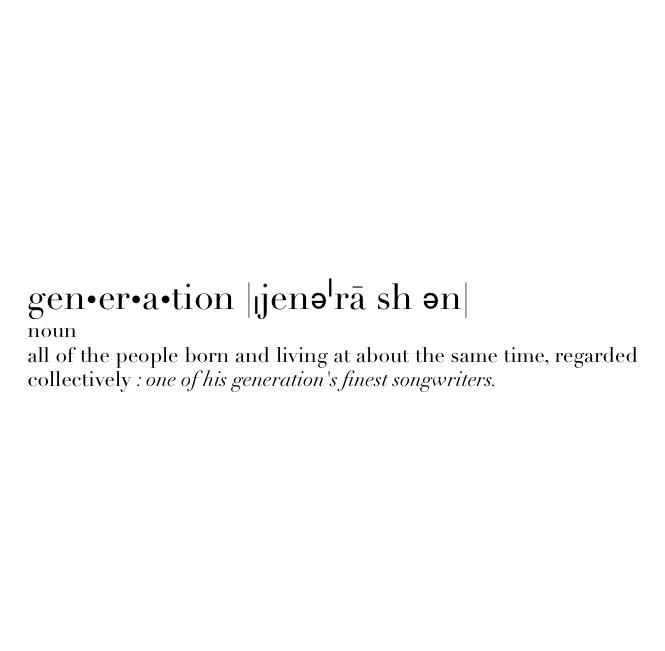 gen-er-a-tions