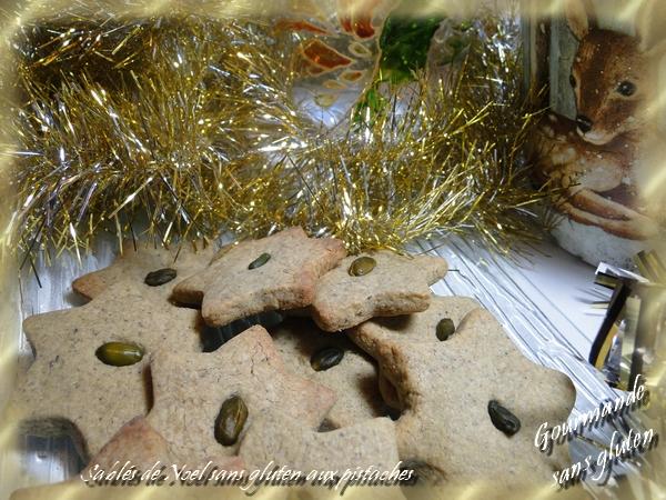 Sablés étoiles de Noël sans gluten