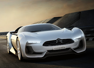 exotic car of citroen gt