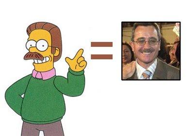 Ortega Lara y Ned Flanders