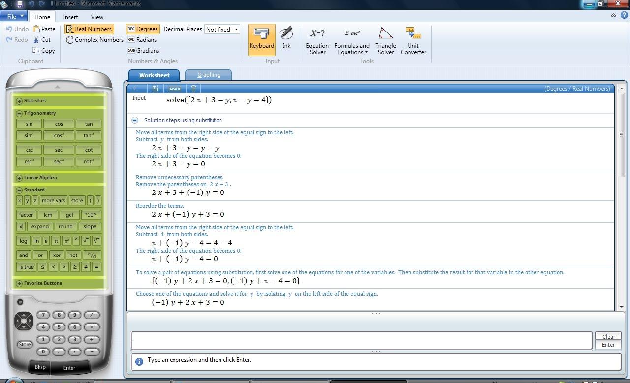 løse andregradslikning kalkulator