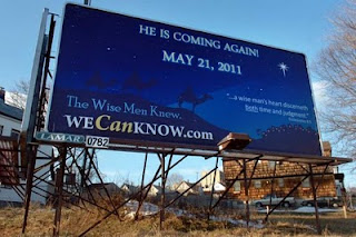 Harold Camping: The Day After?