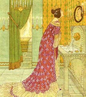 Reina ante el espejo