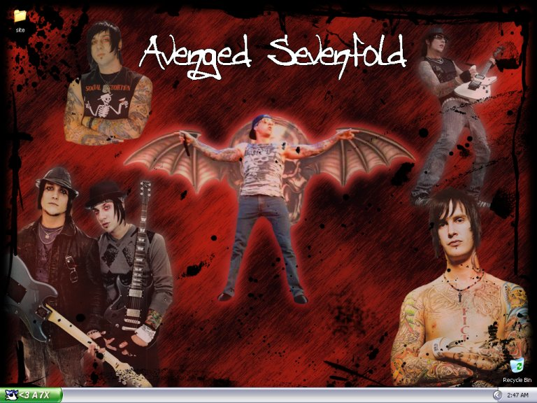 synyster gates wallpaper. Synyster Gates (2001) (Brian