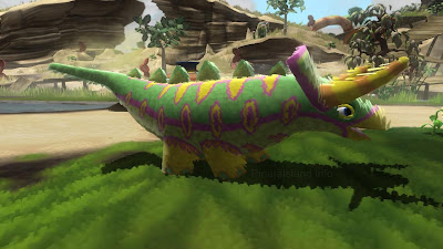 Choclodocus in one of it's forms. Is it too early to declare it the cutest dinosaur or prehistoric creature ever in a game?