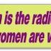 Feministen presenteren vrouwen als de zwakke sekse