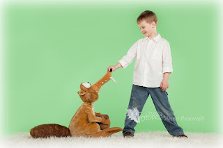 Poiss Jääaja oravaga