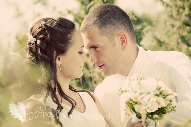pruutpaari portree