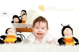 Fotostuudio  Fotopesa beebi ja mesilased