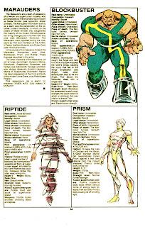 Los Merodeadores (ficha Marvel comics)
