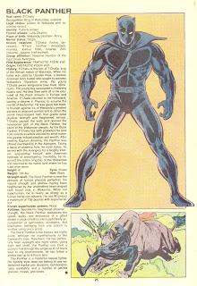 Pantera Negra (ficha marvel comics)