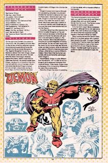 Demon ficha dc comics