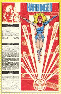 Presagio (Harbinger) dc comics