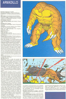 Armadillo (ficha marvel comics)