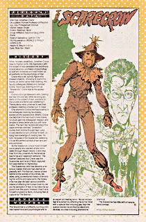 Scarecrow Supervillain