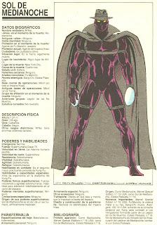 Sol de Medianoche (ficha marvel comics)