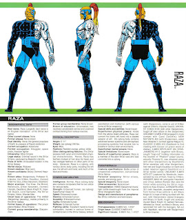Raza (ficha marvel comics)
