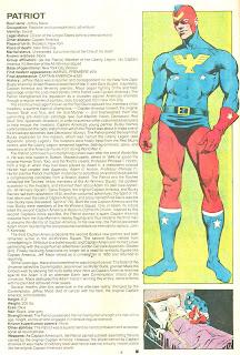 Patriota (ficha marvel comics)