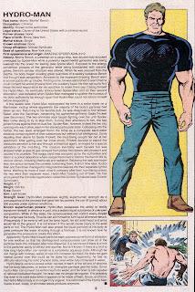 Hidroman (ficha marvel comics)