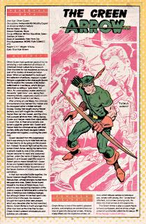 Flecha Verde (ficha dc comics)