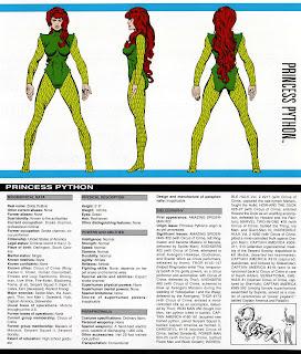 Princesa Piton (ficha marvel comics)