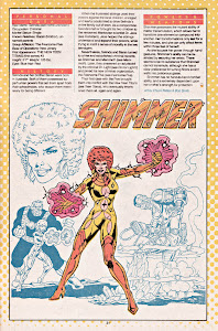 Shimmer ficha dc comics