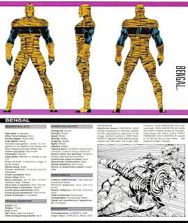 Tigre de Bengala (ficha marvel comics)