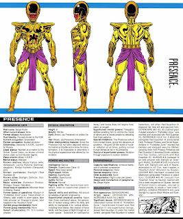 Presencia (ficha marvel comics)