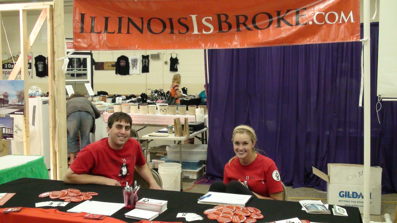 Illinois will county peotone - The Non Partisan Group Illinois Is Broke At The Will County Fair