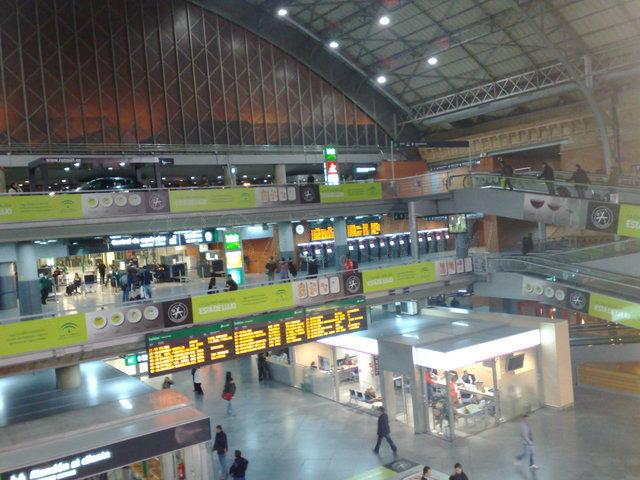 El blog del tren cambia la zona de embarque en atocha de los trenes a toledo y ciudad real - Puerta de atocha ave ...