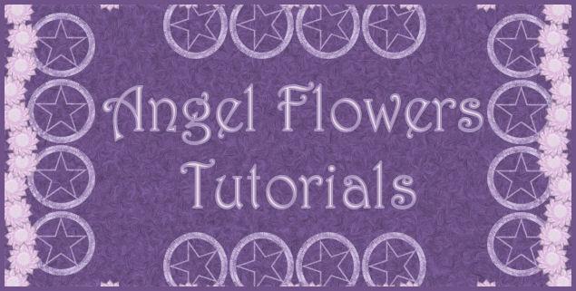 Angel Flowers tutorials