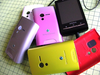 sony ericsson xperia x10 mini lime. Sony Ericsson Xperia X10 mini