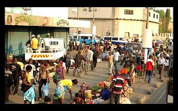 Downtown Lusaka, Zambia