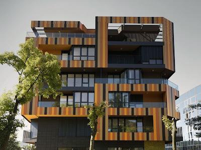 Lace apartments by Ofis Arhitekti