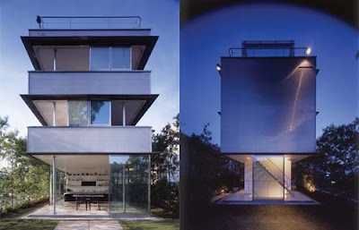 Wall Less House Japan by Tezuka Architects