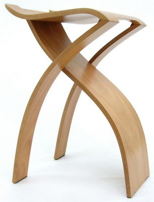 The Flow Stool designed by Kenneth Young