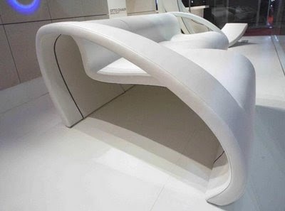 The Cut Sofa and Chair by Domenico de Palo