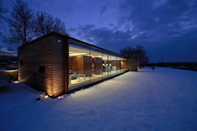The Long Barn Studio by Nicolas Tye Architects