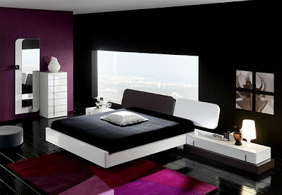 decorating bedrooms with black white and pink colors best interiors