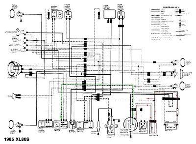 honda tl 125 wiring diagram european type