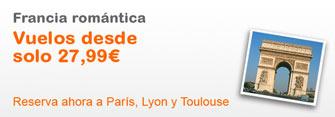 Todo low cost oferta de vuelos baratos con easyjet for Vuelos de barcelona a paris low cost