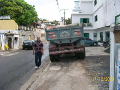 O pedestre que se dane na rua Cachoeira, Parque Cruz Aguiar