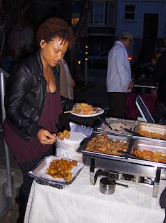 eviljerkcart evil jerk cart caribbean food san francisco street food cart lisette