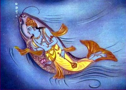 Matsya Avatar - The First Avatar of Lord Vishnu