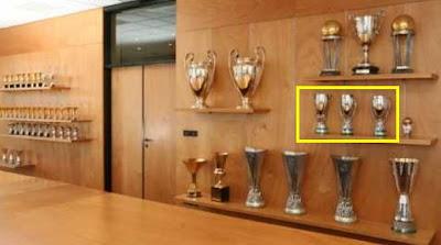 La sala dei trofei da un'altra visuale