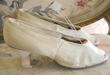 Victorian Wedding Shoes - Before....