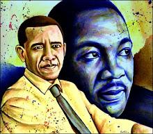 MLK Barack A Portrait